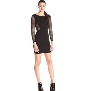 French Connection ~ Bette Mesh Inset Jersey Dress
